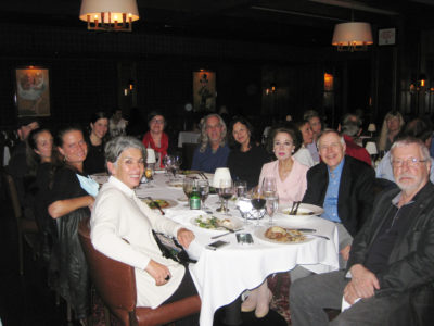 Dinner with Psychopathy researchers