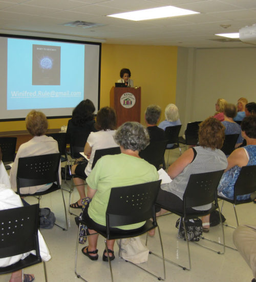 Public Library Presentation on Born to Destroy, the first instructional book on the female psychopath.