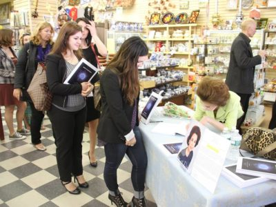 Book signing at St. Petersburg Bookstore